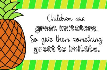 Pineapple Theme Desktop Backgrounds {For Your Computer} By Megan's Creative Classroom Cheer up your desktop (and the background of your smart board when your students are working) with these beautiful quotes. This file contains 13 backgrounds featuring an adorable pineapple theme.