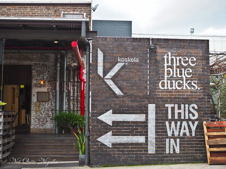 Three Blue Ducks, Rosebery, NSW