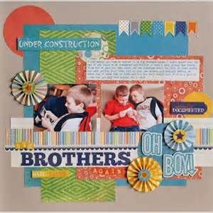 11 best brothers scrapbook layouts images on pinterest brother scrapbooking brothers layouts pronofoot35fo Image collections