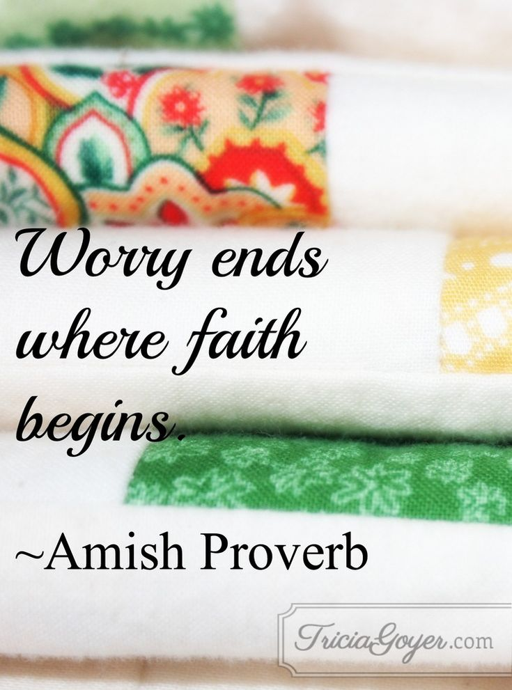 """I love the Amish proverb, """"Worry ends where faith begins."""" As I took steps of faith to find the truth, my worries faded. I trusted that if God called me to write these books, then He would help me get the answers."""