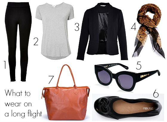 Outfit For Travelling By Plane Summer