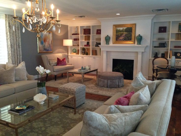 Sorority House Design By Courtney Cutchall Cunningham. (Formal Living Room    University Of Oklahoma
