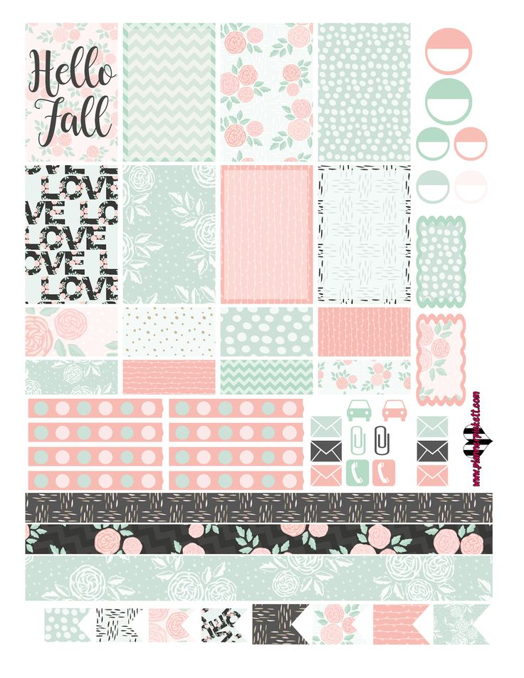 Hey guys! Im at school in my special studies class, had some free time to whip up a floral freebie! I know its not really the most fall i...