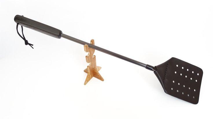 The Worlds Best Fly Swatters - Bog Oak (4000 - 6000 Year Old) by FlySwattersOnline on Etsy