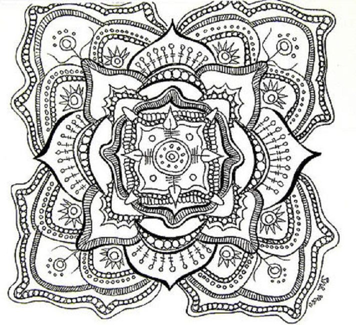 mandala coloring pages adults free