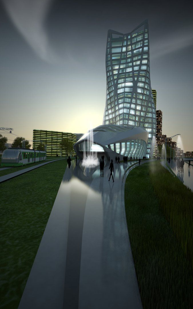 BBK Bank Headquarters - Architecture - Zaha Hadid Architects