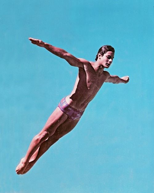 Greg Louganis is an incredible athlete and good human being.