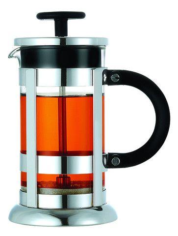 Chrome Small Premium French Coffee Press (11.8 oz, 350ml) - cocafe