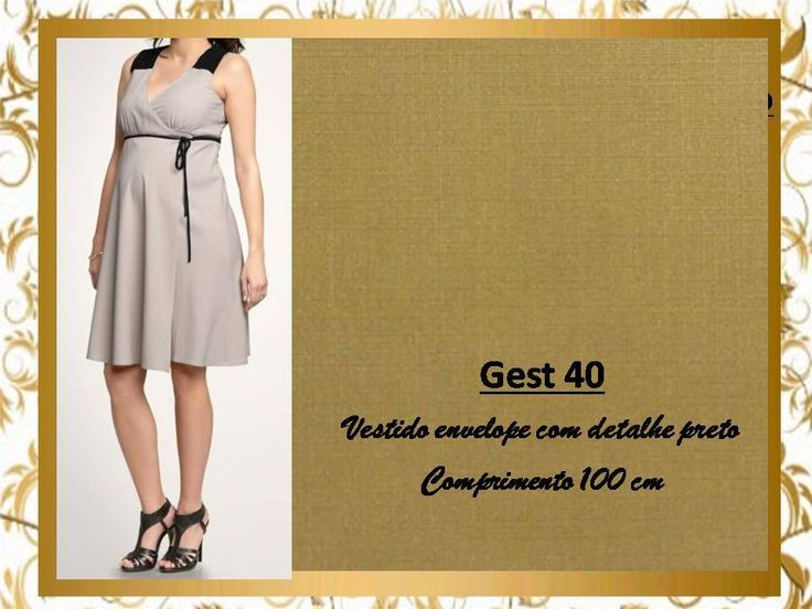Vestido De Gestante Com Busto Transpassado Saia Godê Mila Ri - R$ 89,99 em Mercado Livre