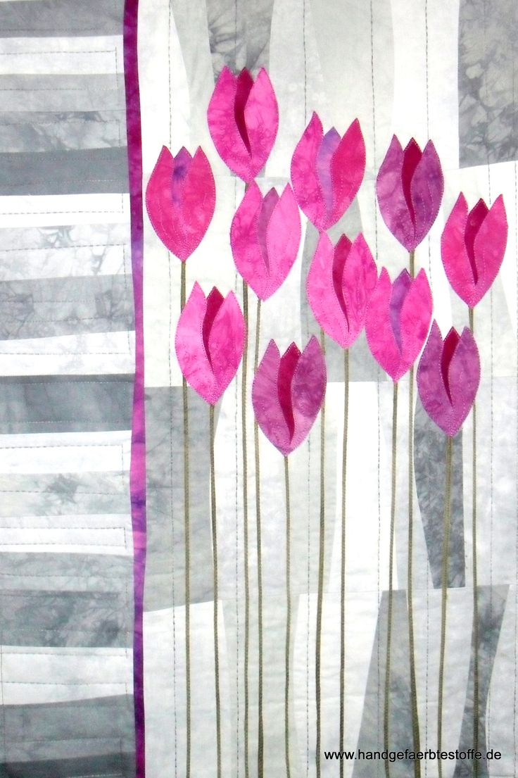 "Quilt ""My Pink Ladies"", Quilt Kit 38,95€, 60x90cm"