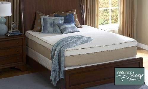 Nature's Sleep Memory Foam Mattresses and Pillows