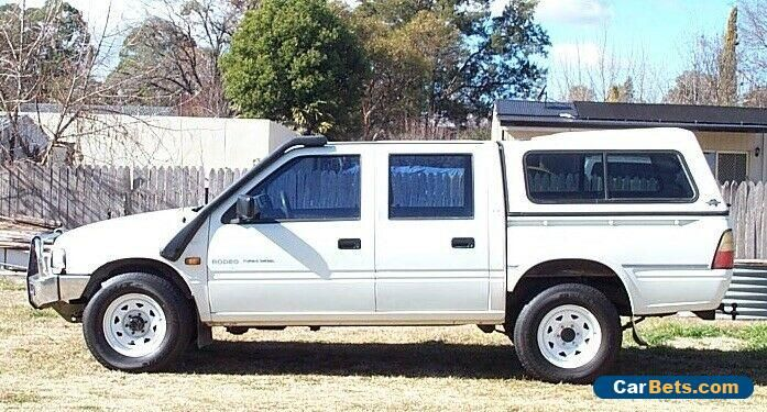 Car For Sale Holden Rodeo Crew Cab 4x4