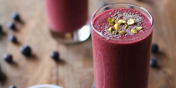 Beet Berry Chia Seed Smoothie