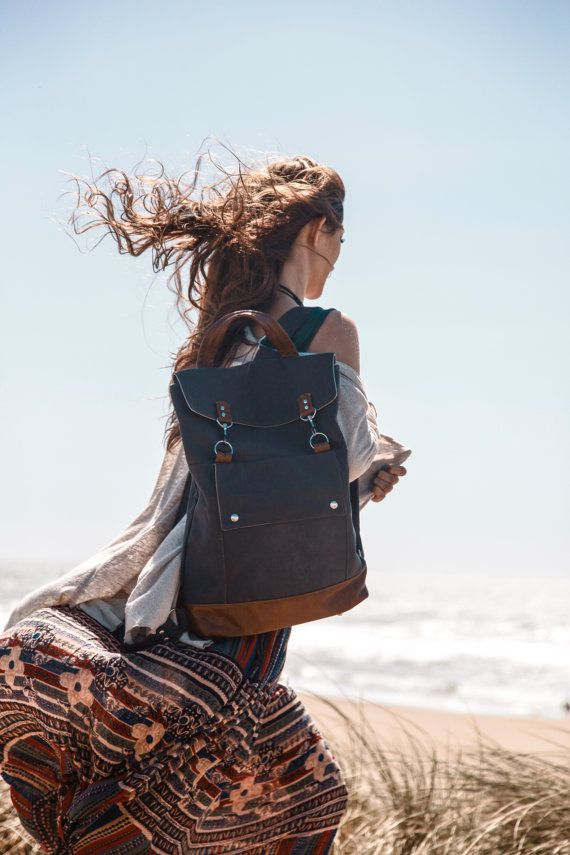 Laptop Backpack Womens Backpack Professional by JennyNDesign