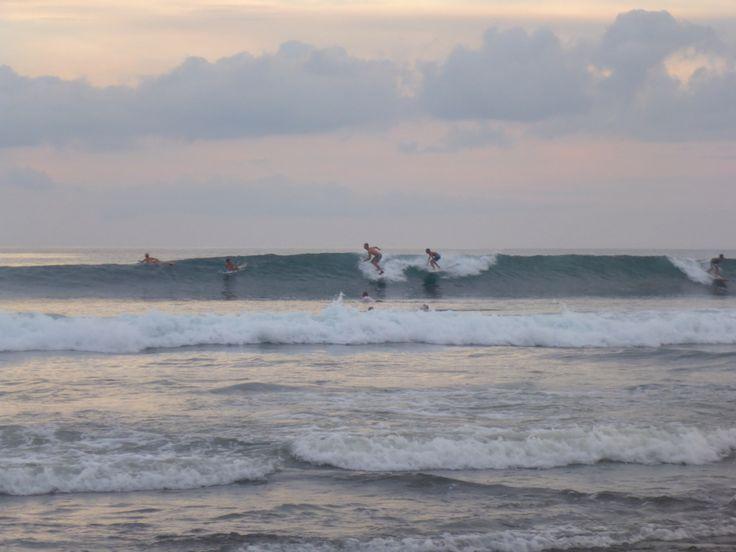 Surf at Batu Bolong beach, Canggu