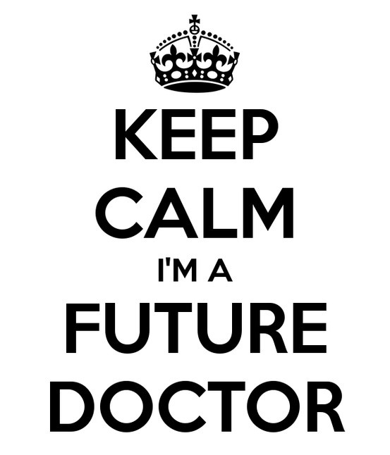 WILL I MAKE IT TO BE A DOCTOR?