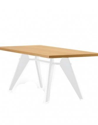 Replica Jean Prouve Rectangle Dining Table – Natural NZ$995
