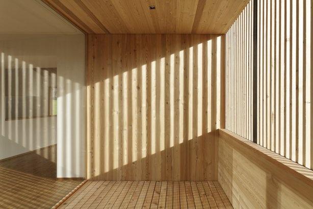 Holzhaus am Waldrand  Waldrand, Switzerland  by: raumfindung architekten