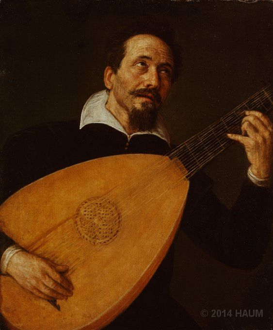 Jacobo Bassano (1517-1592) ~ Lute Player ~ canvas ~ Jacopo Bassano, known also as Jacopo dal Ponte, was an Italian painter who was born and died in Bassano del Grappa near Venice, from which he adopted the name. A pupil of Bonifazio Veronese's, he painted mostly landscapes and genre scenes.
