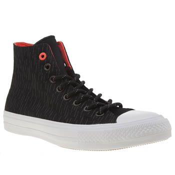 Converse Black Chuck Taylor Ii Hi Shield Mens Take the Converse Chuck Taylor All Star II Hi with you all the way into A/W, as the Shield arrives from the brands Counter Climate collection. The black hi-top features a water-repellent Shield canvas http://www.MightGet.com/january-2017-13/converse-black-chuck-taylor-ii-hi-shield-mens.asp
