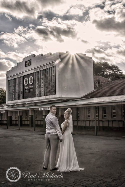 Trentham race course wedding