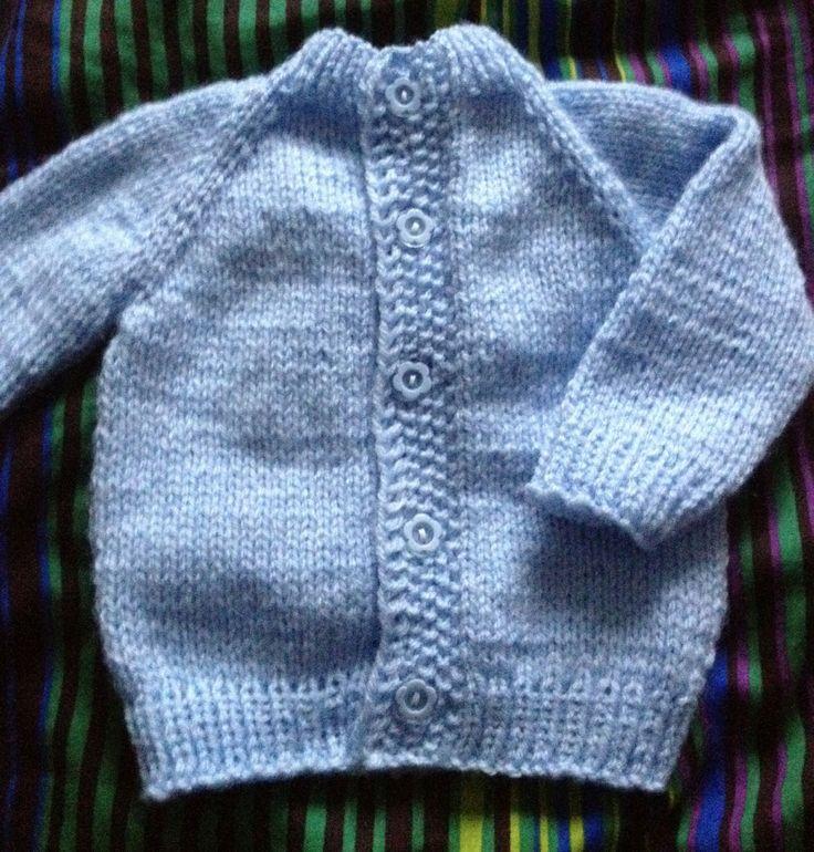 Jednoduchý svetřík pro miminko, který zvládne každý.