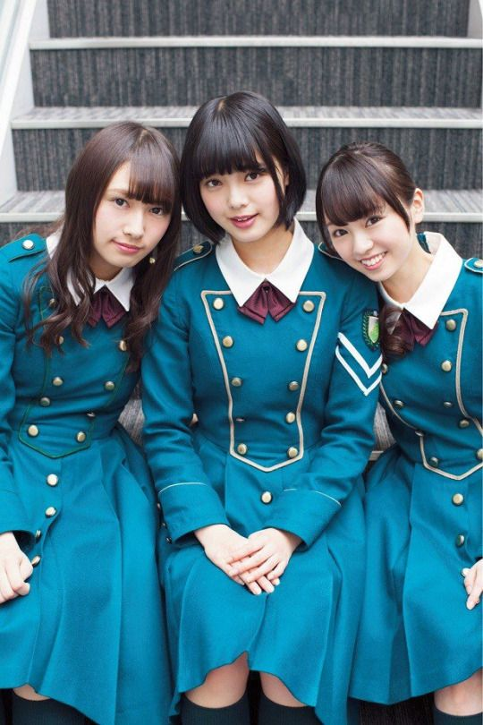 欅坂46 渡辺梨加 平手友梨奈 今泉佑唯 Keyakizaka46 Watanabe Rika Hirate Yurina Imaizumi Yui