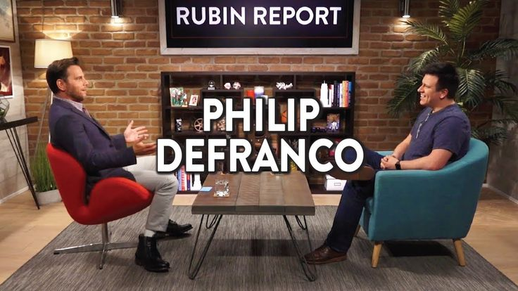 Philip DeFranco and Dave Rubin on YouTube, Political Views, and Free Spe...