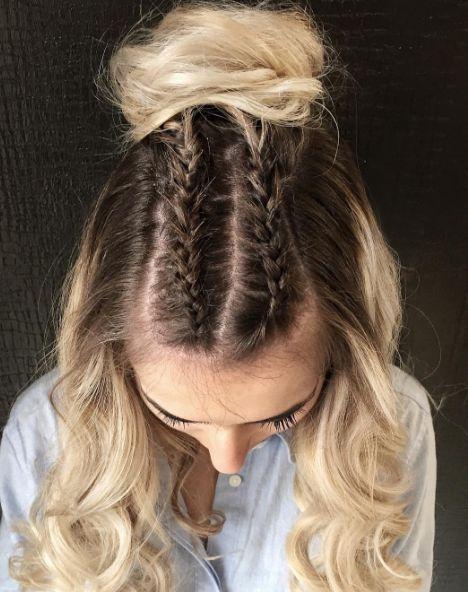 18 Easy Hairstyles That Hide Greasy Hair   Greasy hair ...