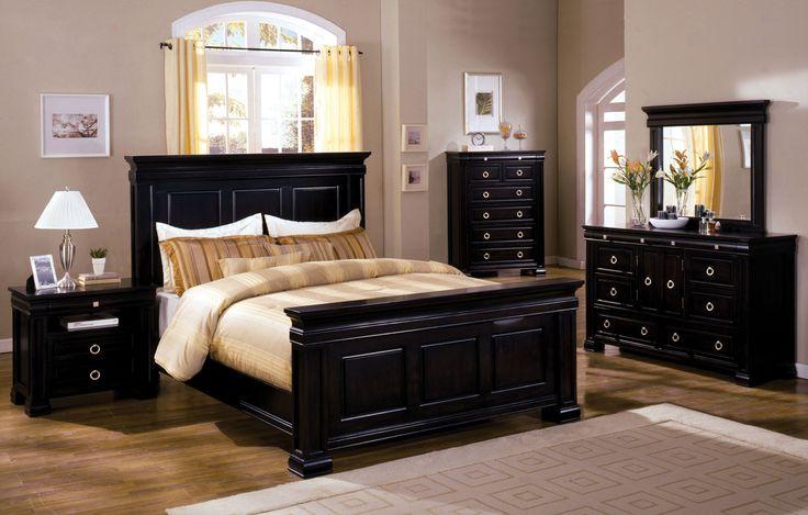 Furniture of America Ottove Traditional Platform Bed, Tobacco Oak