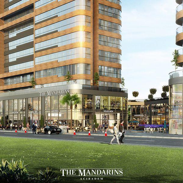 Modern ve estetik çizgileriyle İstanbul'u The Mandarins Acıbadem'de yaşayın!