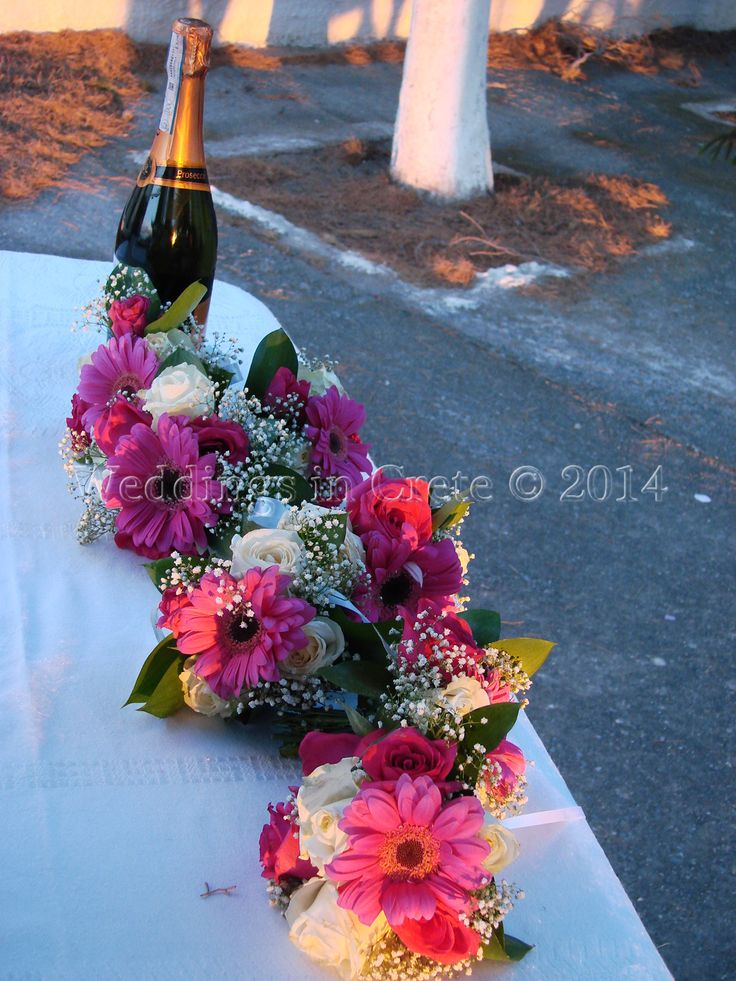 Weddings in Crete - Flower Arrangement