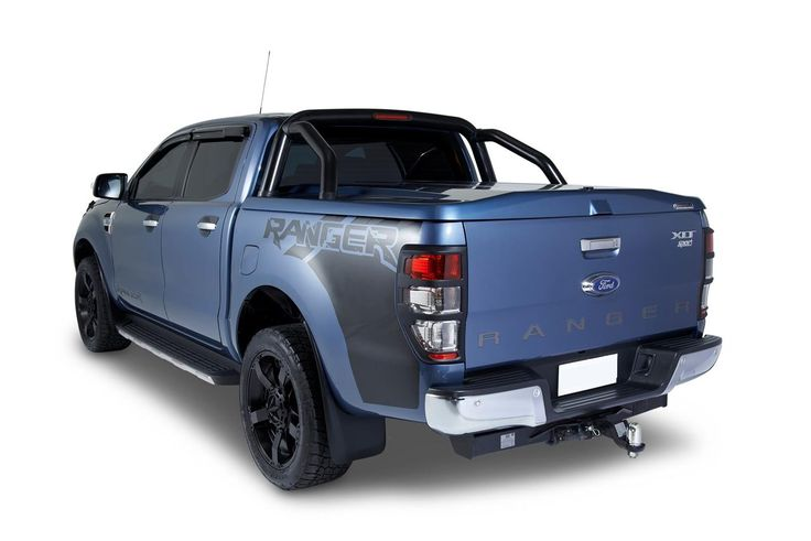 ROLL BAR INOX DOUBLE TUBE Ø70 POUR TANGO SYSTEM FORD RANGER 2012+ DOUBLE CAB