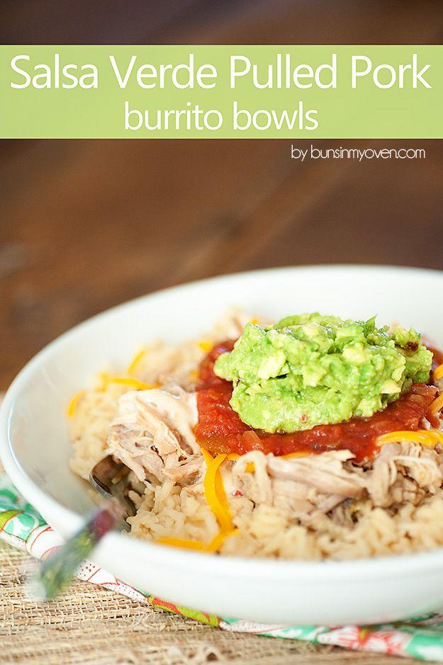 ... pork slow crockpot recipe pulled pork pork burritos burritos bowls