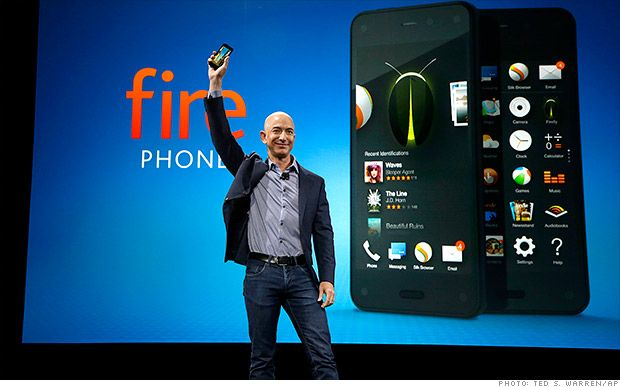 Amazon launches its smartphone with 3D feel