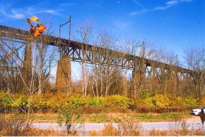 Bridgehunter.com | Brandywine Valley Viaduct Downingtown, PA