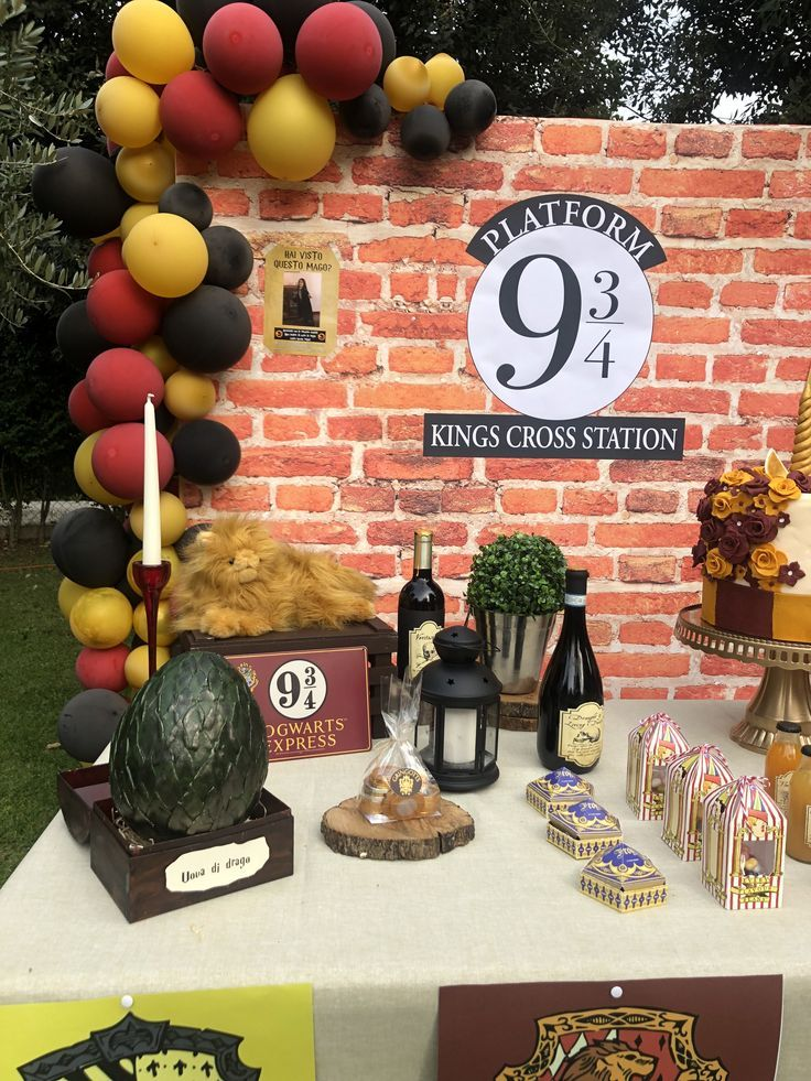 Harry Potter Christmas Marathon 2020 Harry Potter Outdoor Party in 2020   Harry potter theme party