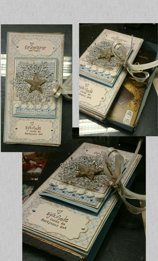 Giftbox with papers from maja design