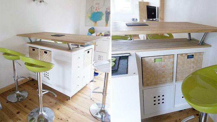 Îlot de cuisine meuble expedit IKEA 303 Home Deco