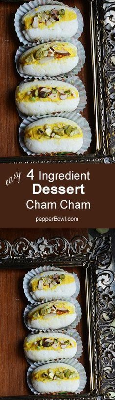 Chum Chum, Chom Chom or even Cham Cham, these milk sweet is being called with various accents and slang according to the regions and states of India. Like its name, the preparation and the recipe is also very easy to make.