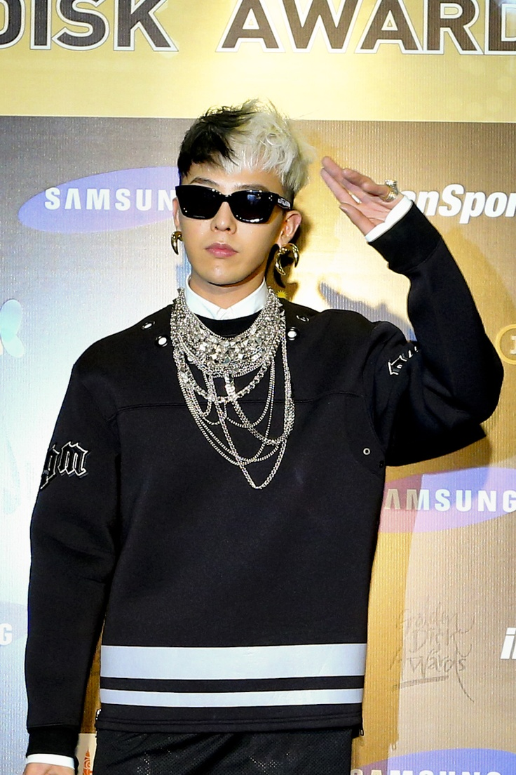 GD G Dragon - Official Pictures of 27th Golden Disk Awards Day 2 Press Conference