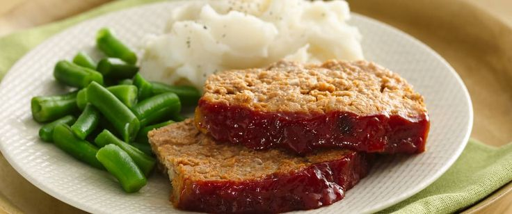 Meatloaf is great comfort food, and this version is lower in fat and very flavorful. The addition of yogurt makes it really moist.