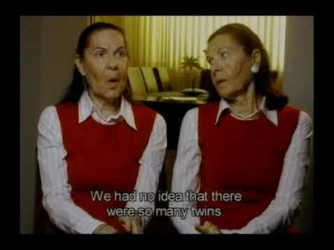 Holocaust Survivor Testimony: Iudit Barnea and Lia Huber, Romania. Twin Holocaust survivors describe arriving at Auschwitz