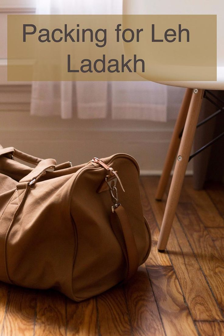 This list of things to carry for Leh Ladakh Trip will help you plan your trip better and enjoy it more. Do check it out and have great vacation.