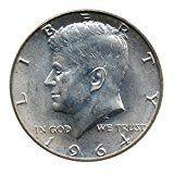 #8: 90% Silver John F. Kennedy Half Dollar JFK Circulated Better Than Half Dollar Fine