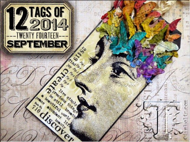 Hi folks...Im back to share my tag for this months... 12 Tags of 2014 Kath