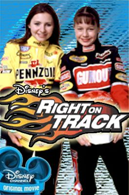 Lin and I wanted to be them after watching this movie. We'd pretend to drag race in our driveway.  Right on Track, Courtney and Erica Enders.