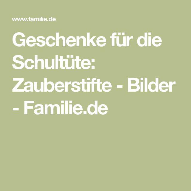 Geschenke für die Schultüte: Zauberstifte - Bilder - Familie.de