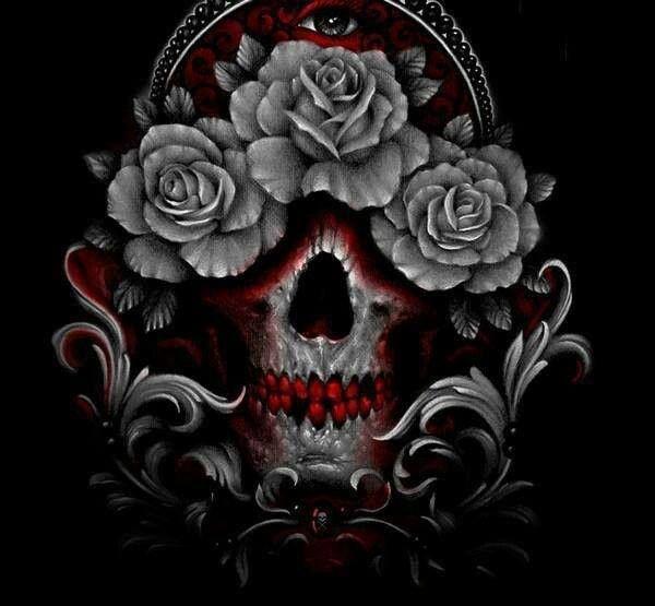 More skulls tattoos pinterest