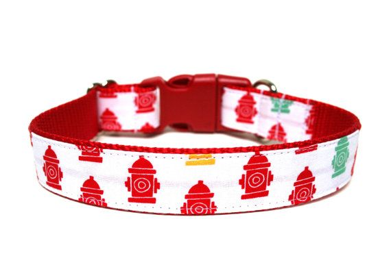 Hey, I found this really awesome Etsy listing at https://www.etsy.com/listing/177189471/boy-dog-collar-1-fire-hydrant-dog-collar